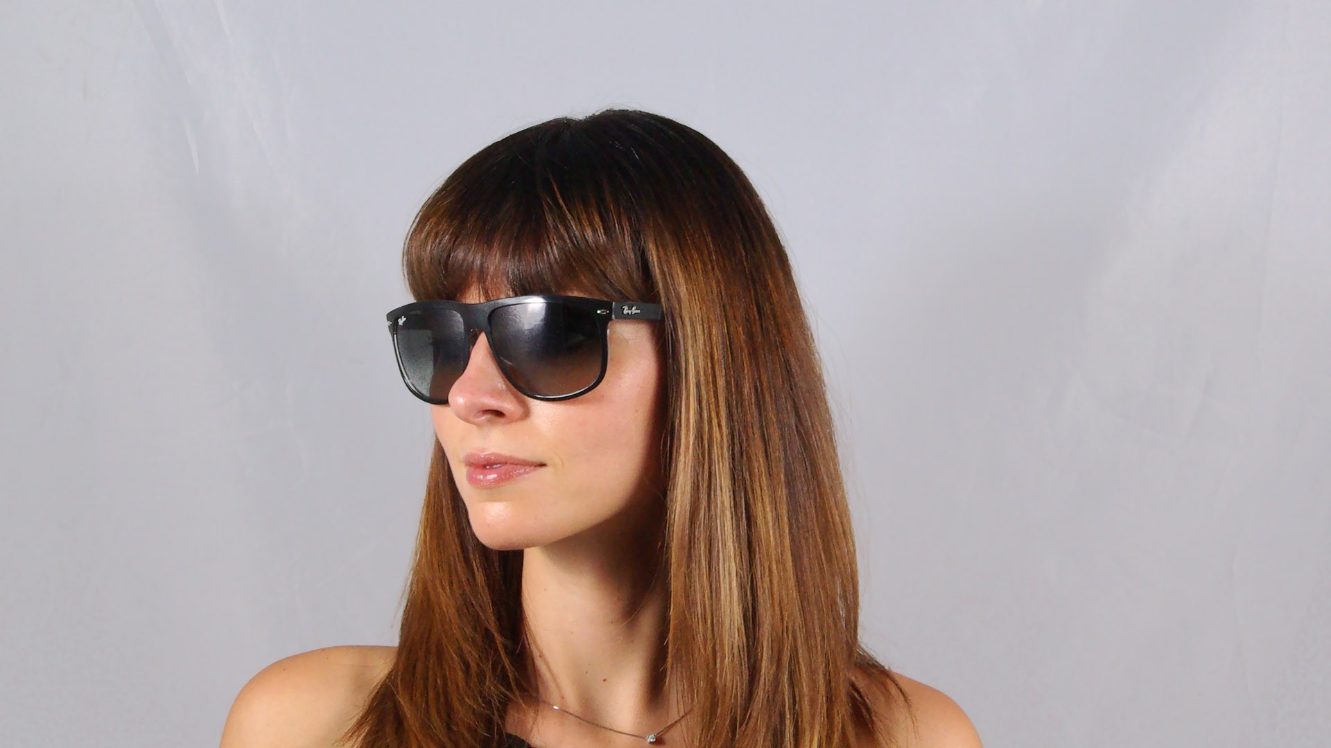 fb0e0530206 Sunglasses Ray-Ban RB4147 6039 71 60-15 Black Large Gradient