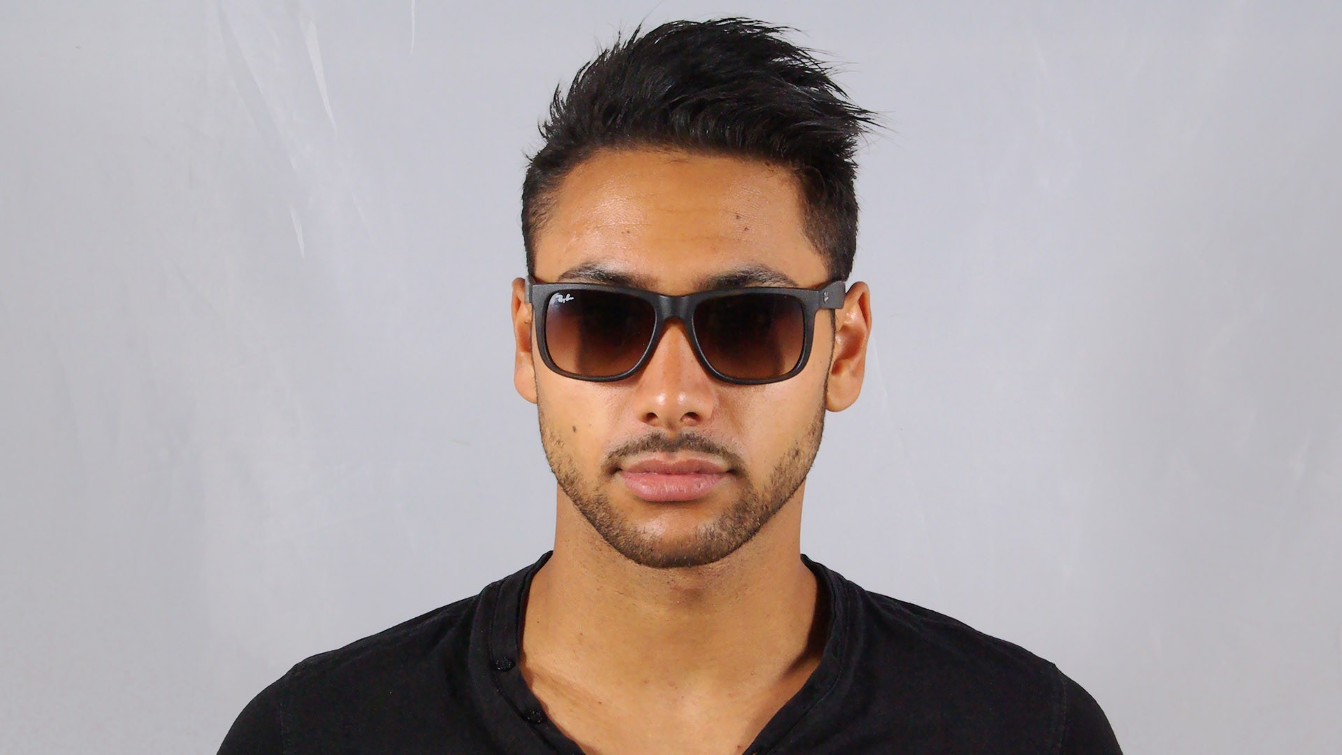 ea7ef39ad6e4 Sunglasses Ray-Ban Justin Tortoise RB4165 710/13 51-16 Medium Gradient