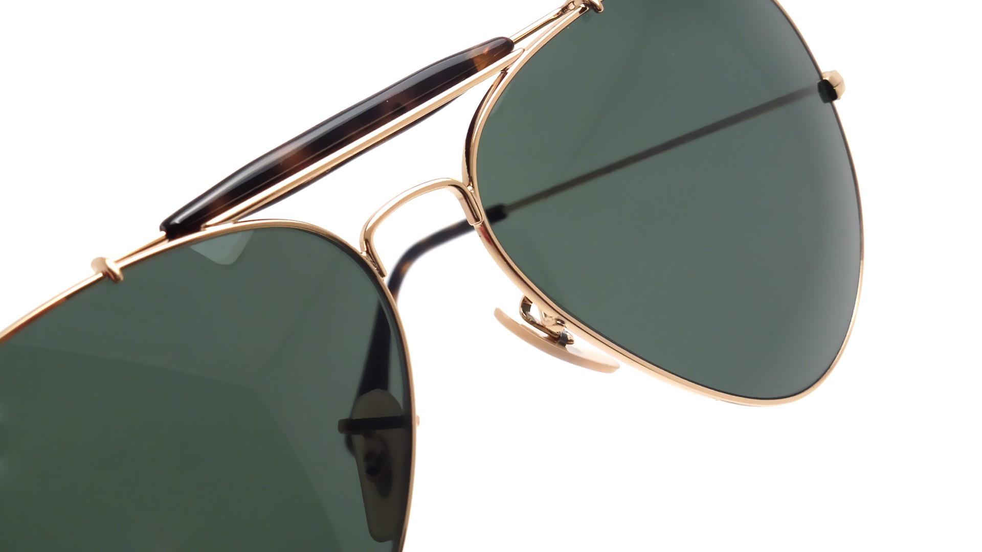 3e9c0b9948030 Sunglasses Ray-Ban Outdoorsman II Havane Gold RB3029 181 62-14 Large