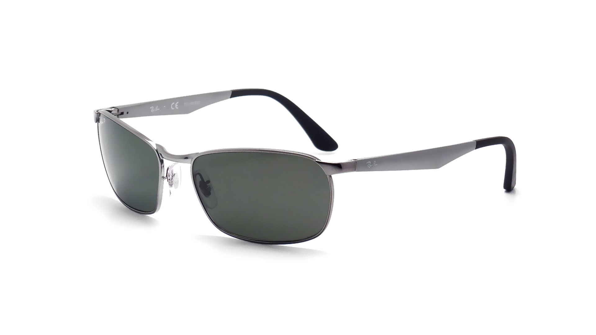 910f6431a24e7 Sunglasses Ray-Ban Active Lifestyle Grey RB3534 004 58 59-17 Large Polarized