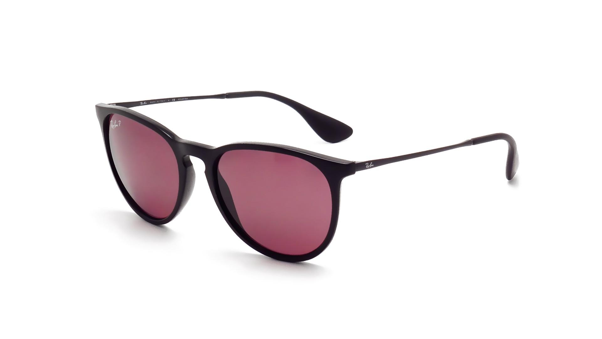 78ba68ea7e Sunglasses Ray-Ban Erika Black RB4171 601 5Q 54-18 Medium Polarized