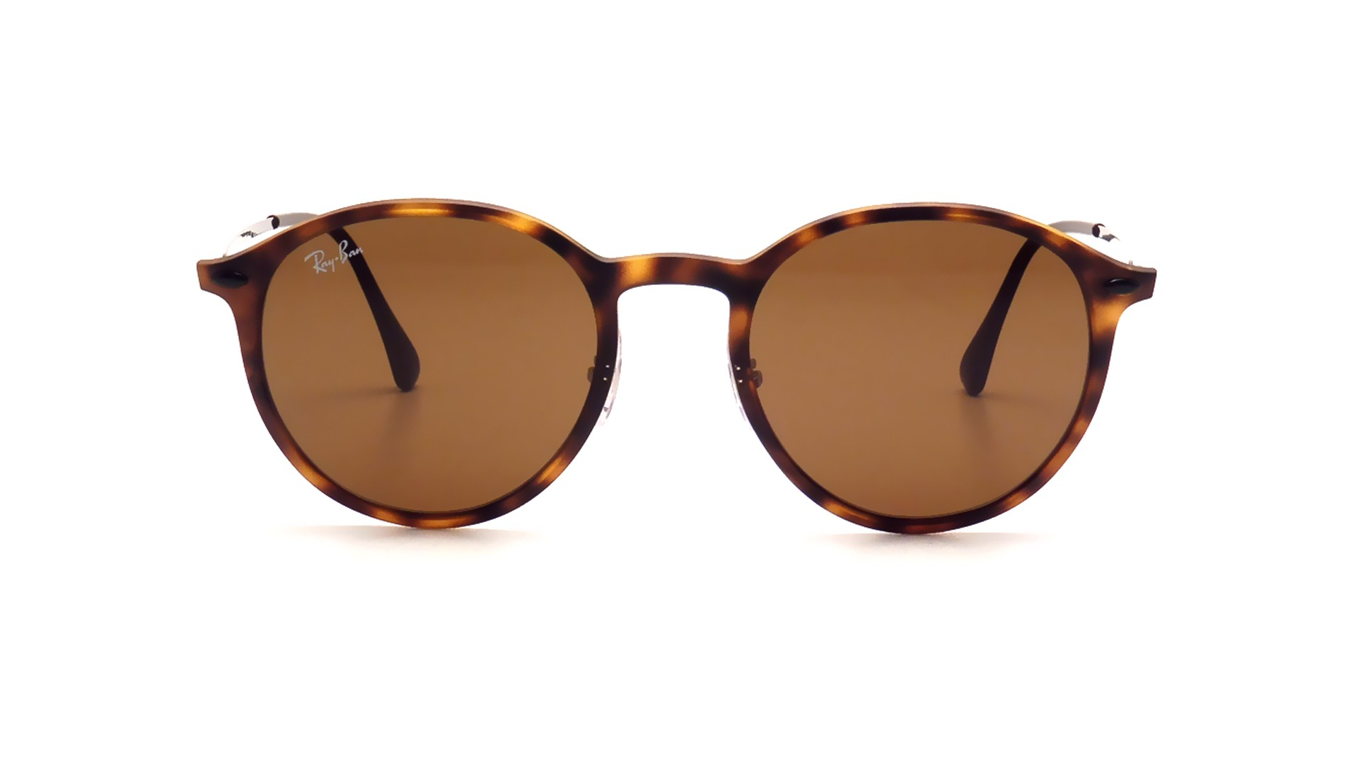 570411f29f4395 Lunettes de soleil Ray-Ban Round Havana Light Ray Écaille RB4224 894 73 49- 20 Medium