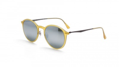 621023dffaf61d Ray-Ban Round Light Ray Jaune RB4224 618630 49-20 83,25 €