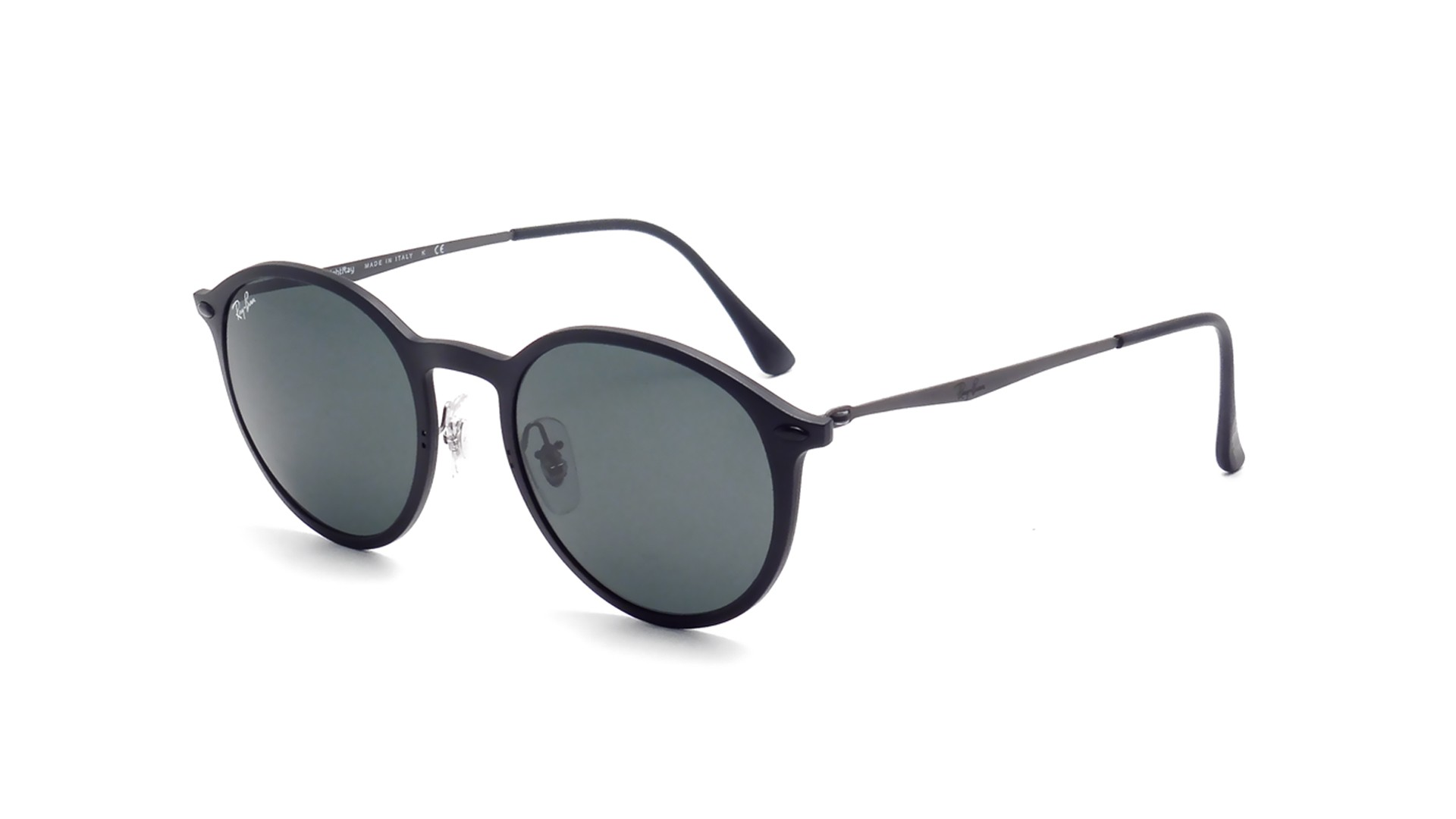 a1f89024bd ... reduced sunglasses ray ban round light ray black rb4224 601s71 49 20  medium 9bced 4737d