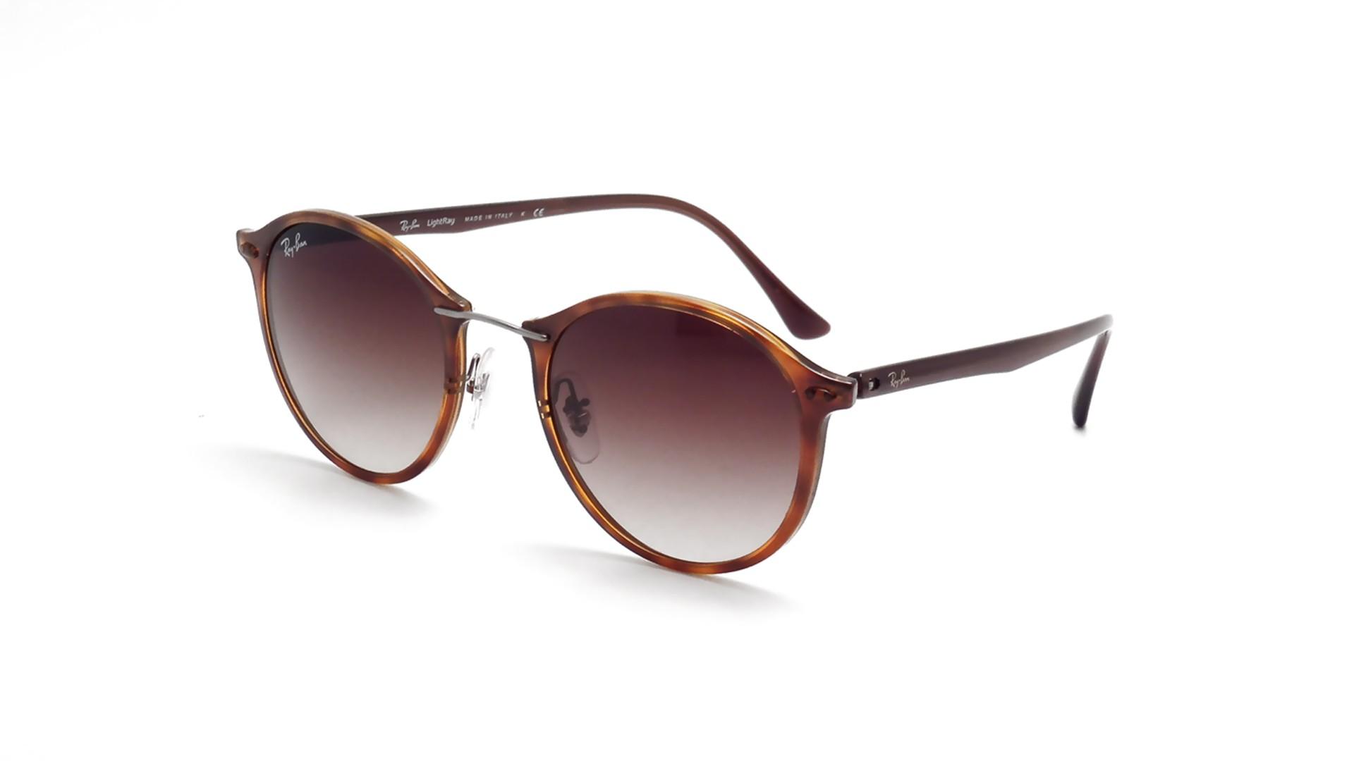 c531de3c69 Sunglasses Ray-Ban Tech Light Ray Havane Tech Tortoise RB4242 620113 49-21  Medium Gradient
