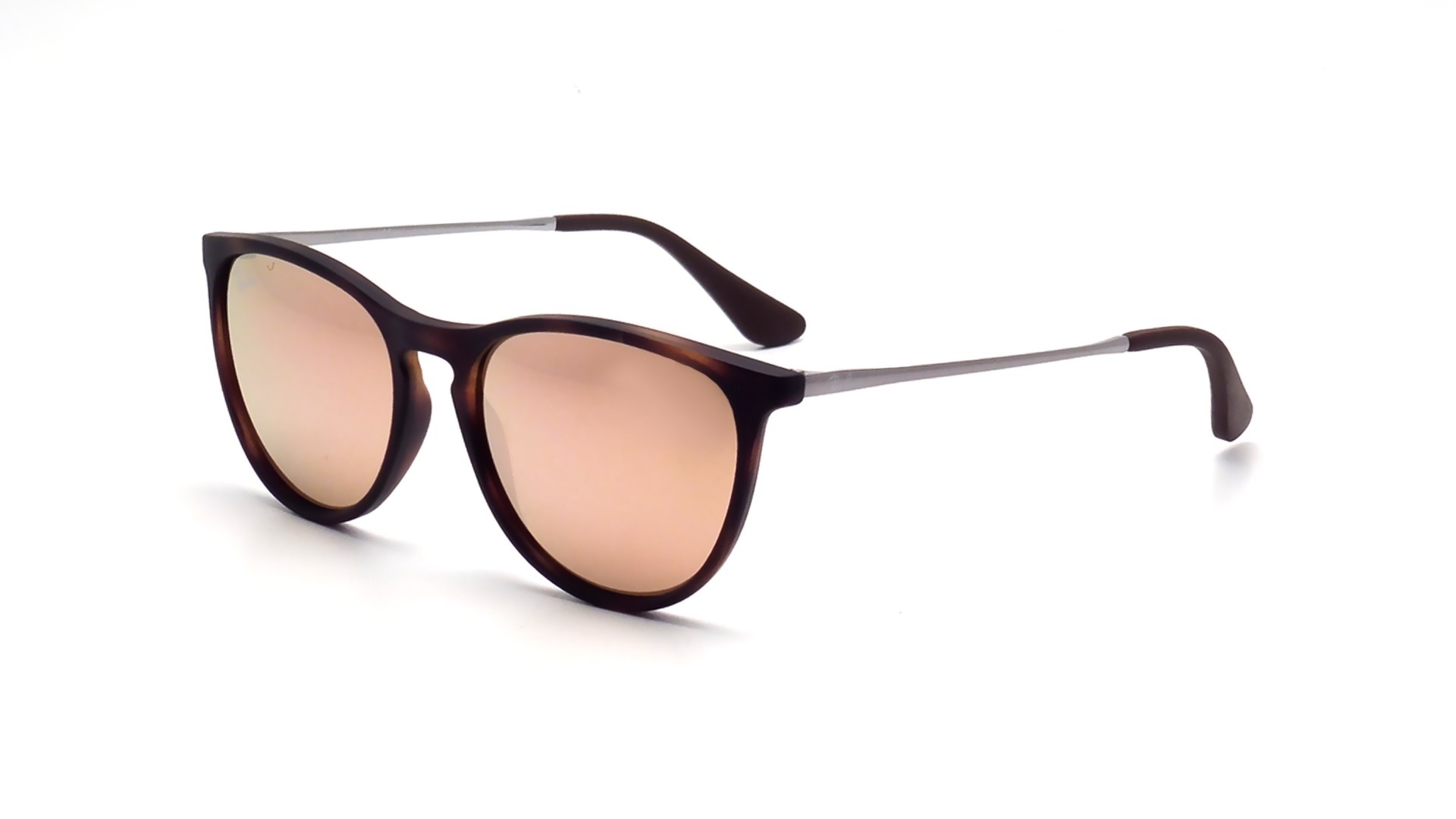 10c8d7e24d Sunglasses Ray-Ban Erika Havane Tortoise RJ9060S 70062Y 50-15 Junior Mirror