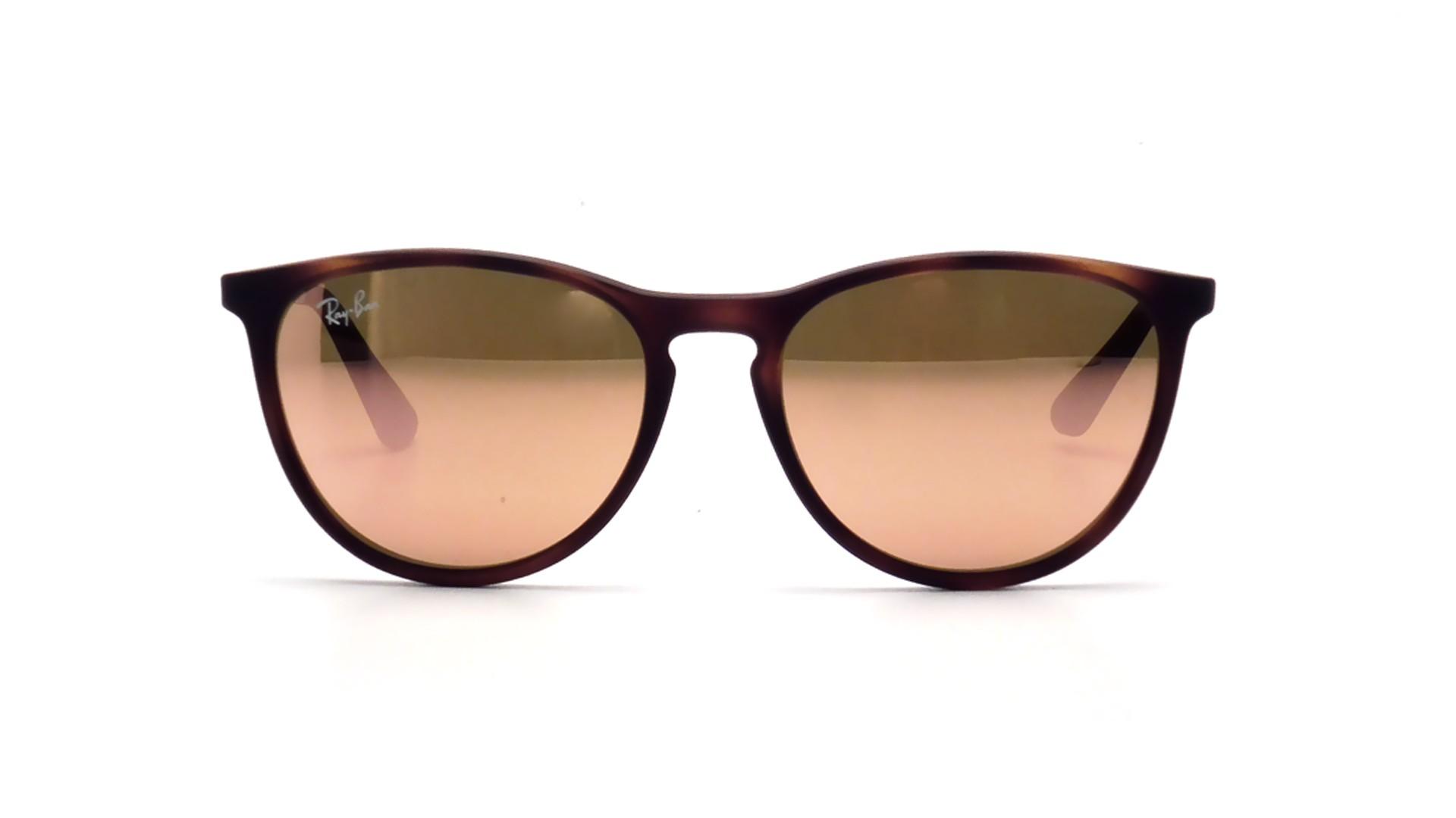 7780b33a82 Sunglasses Ray-Ban Erika Havane Tortoise RJ9060S 70062Y 50-15 Junior Mirror