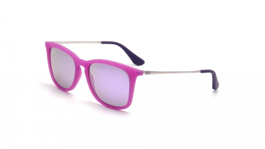 Ray-Ban Junior RJ9063S Sonnenbrille Violett 70084V 48mm 1TQIssh