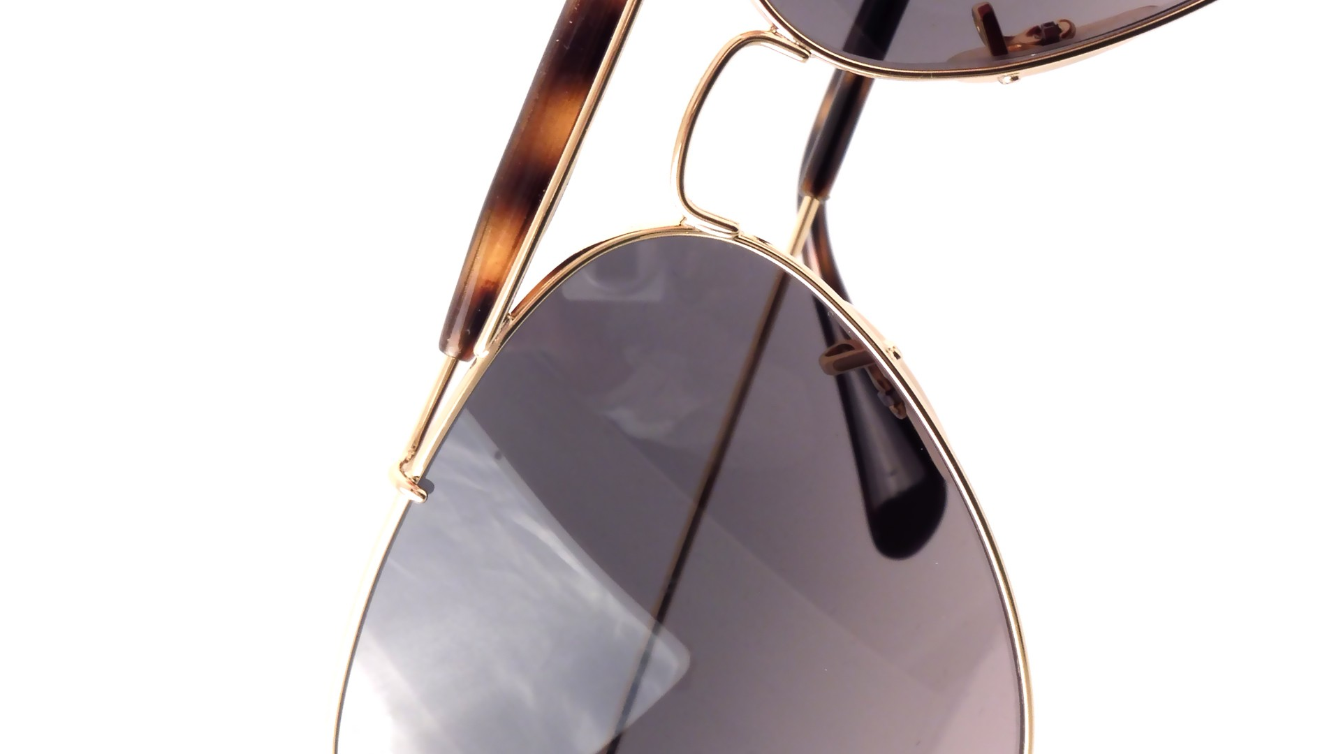 d757d635131 Sonnenbrillen Ray-Ban Outdoorsman Ii Gold RB3029 181 71 62-14 Breit  Gradient Gläser