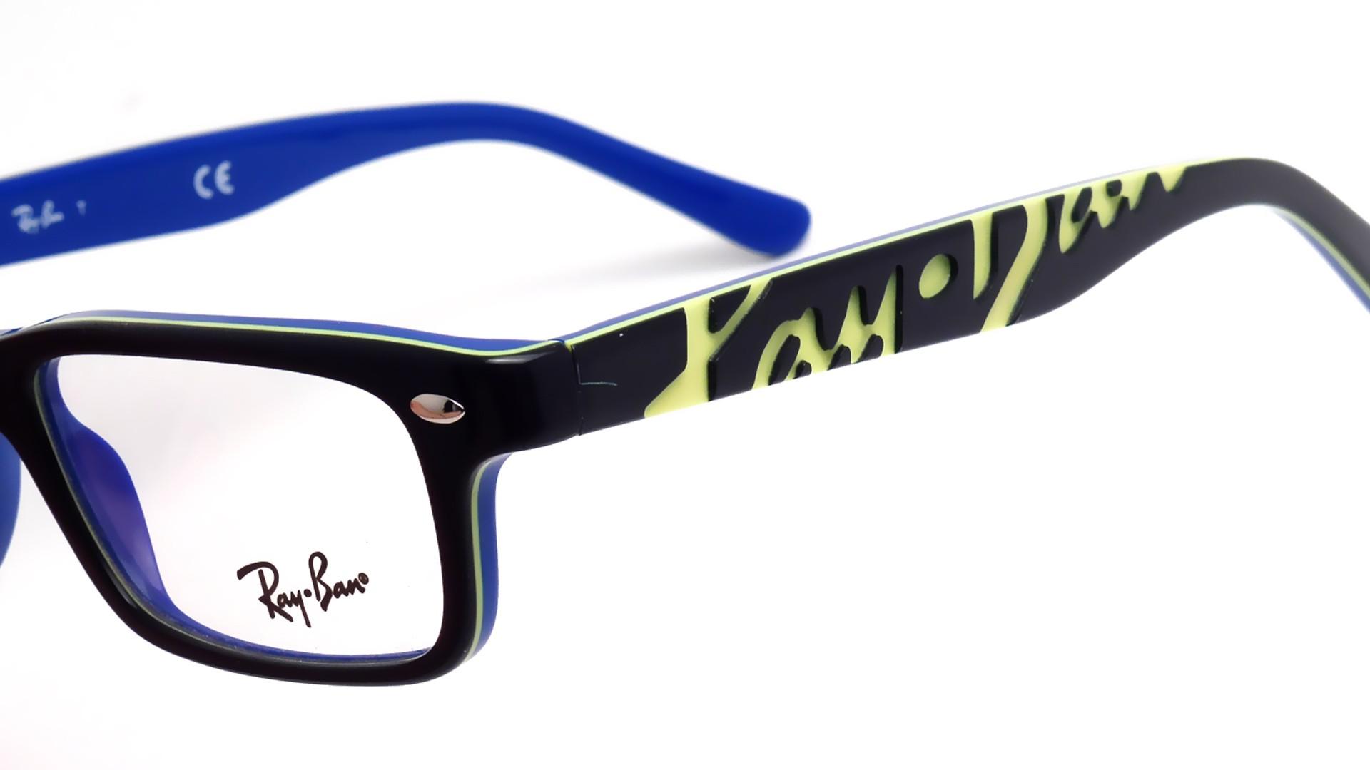 4c4d4af4cca Eyeglasses Ray-Ban RYRB1535 3600 48-16 Black Junior