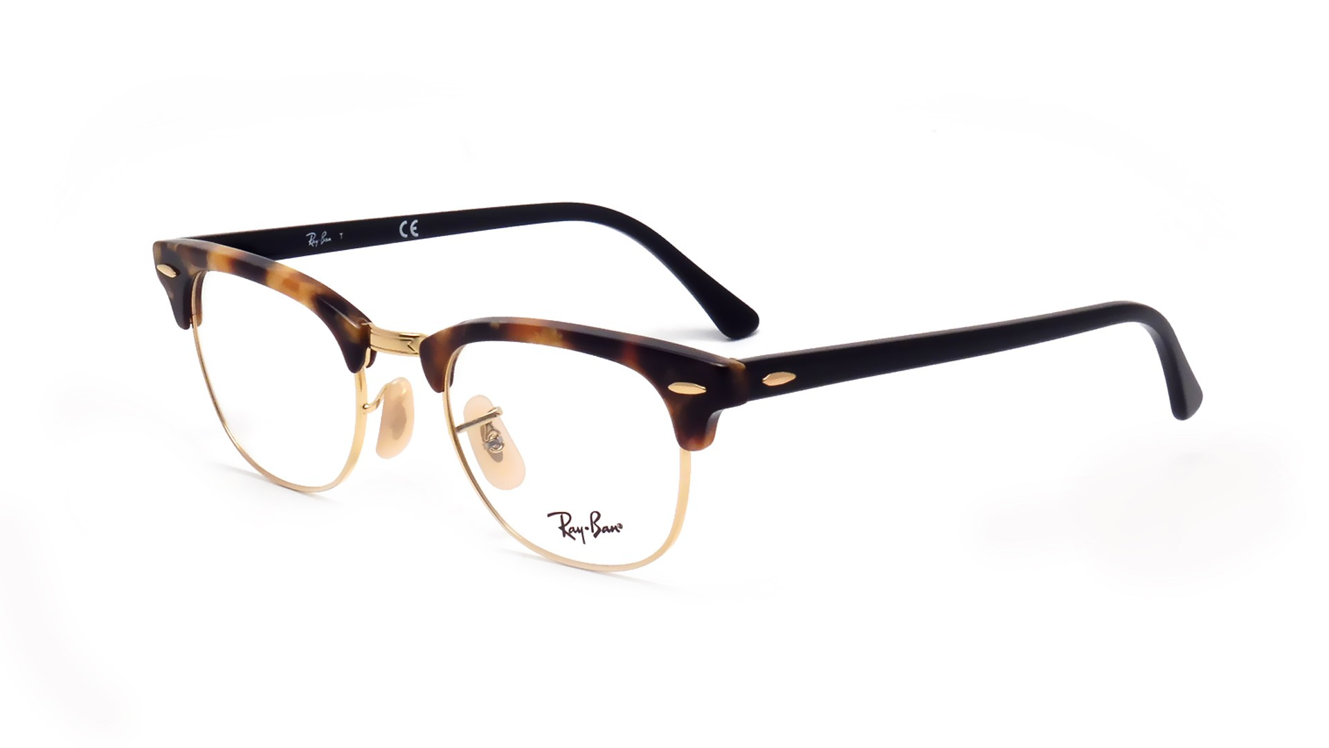Eyeglasses Ray-Ban Clubmaster Tortoise RX5154 RB5154 5494 49-21 Medium 4154ac3609a9