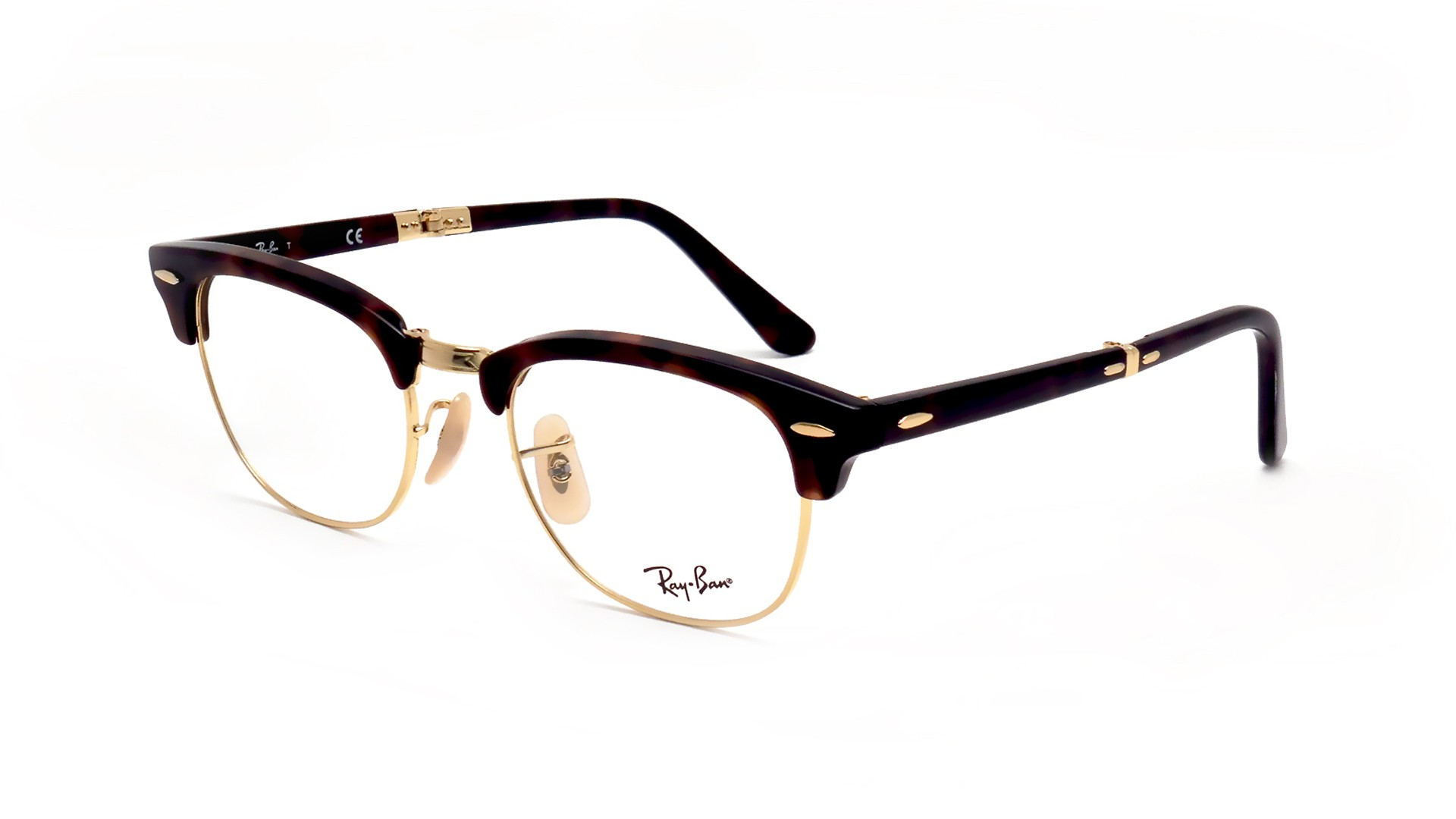 2f9be302a8fa ... where can i buy ray ban clubmaster tortoise rx5334 rb5334 2372 51 21  pliantes visiofactory 8b0be