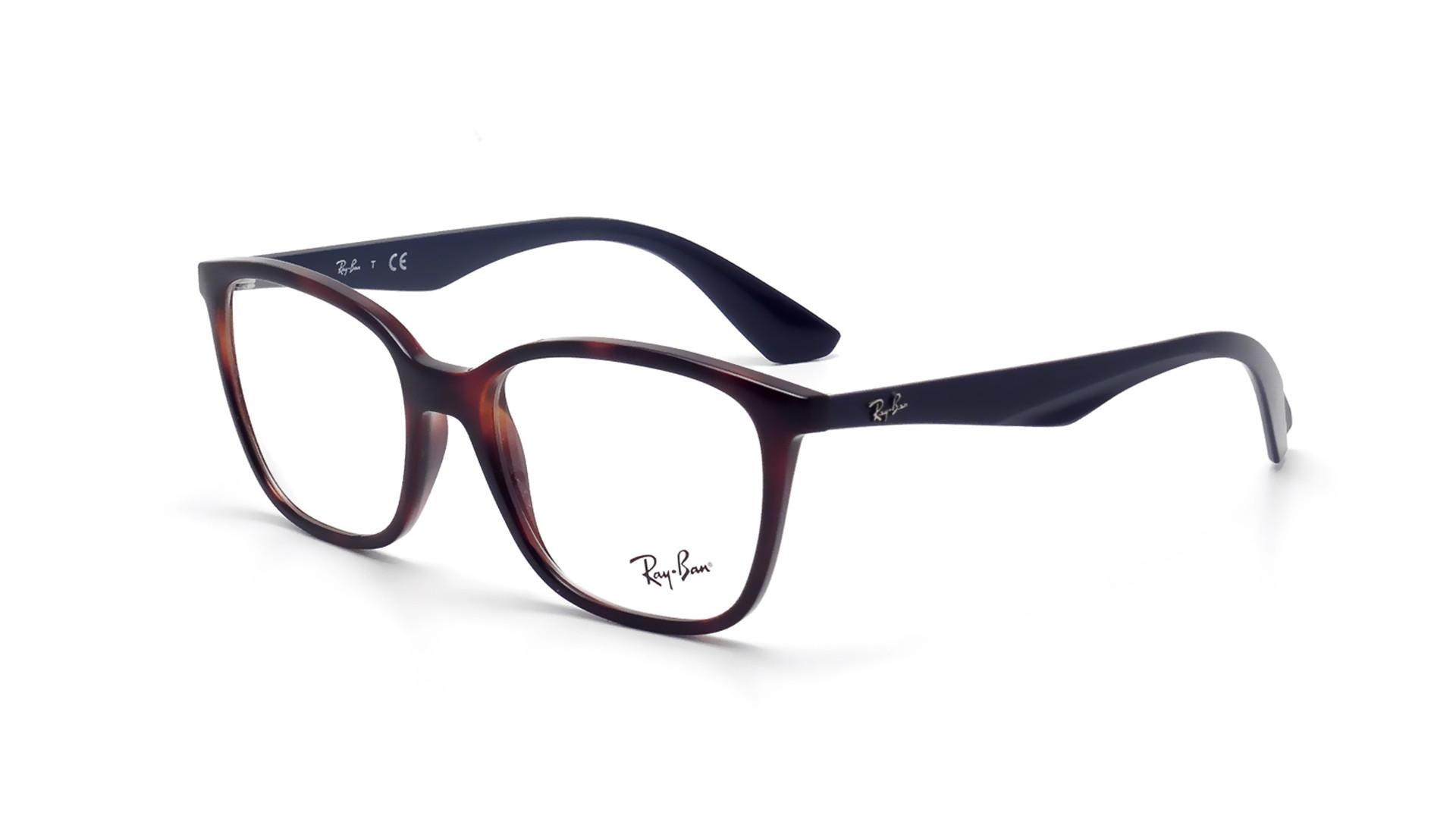 c7b00f9bf4990 Eyeglasses Ray-Ban RX7066 RB7066 5585 52-17 Tortoise Medium