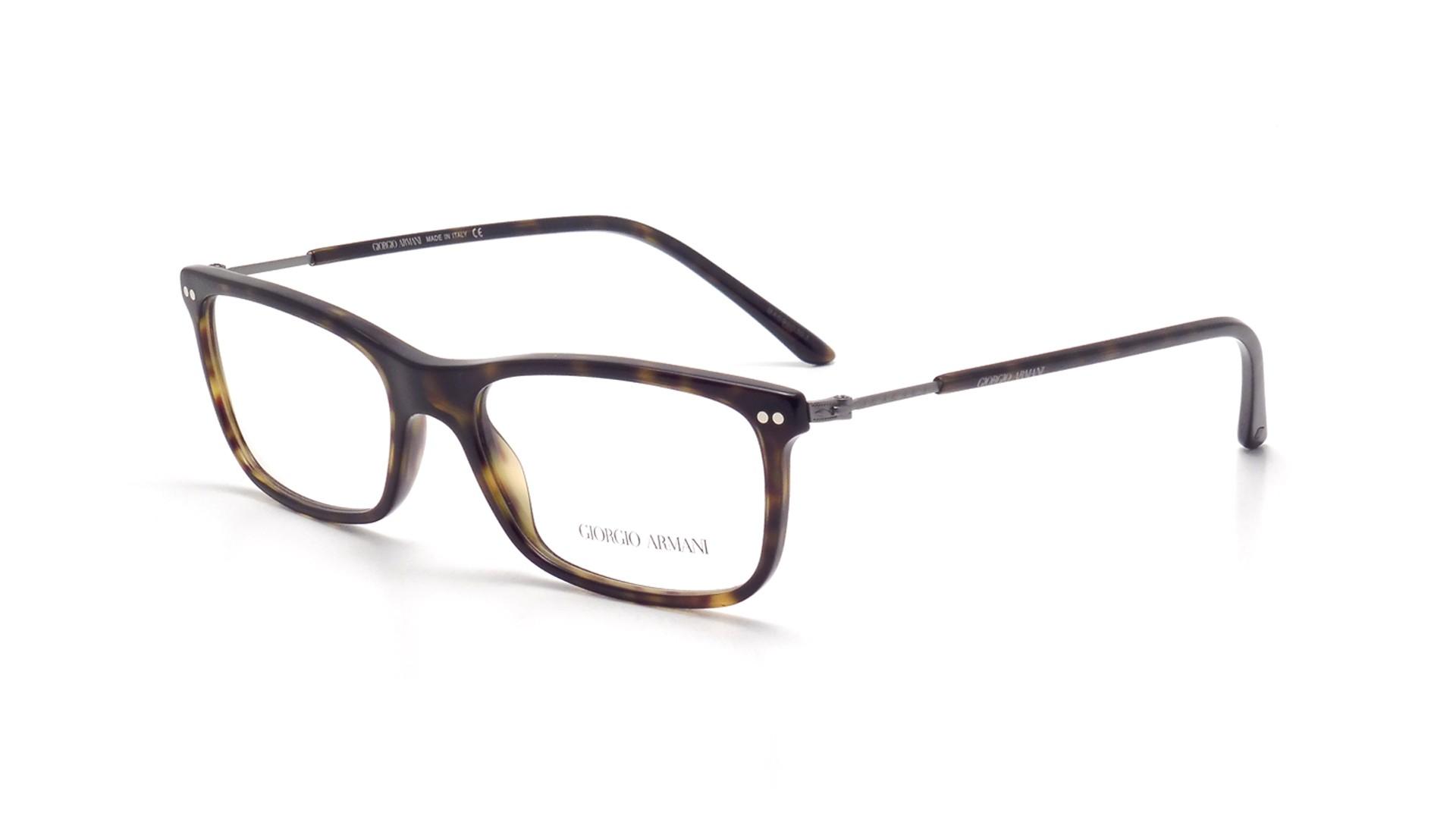 cba96efca535 Eyeglasses Giorgio Armani Frames of Life Tortoise AR7085 5026 54-17 Medium