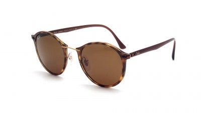 0f799f53c8d Sunglasses Ray-Ban Tech Light Ray Light Ray Tortoise RB4242 710 73 49-21  Medium