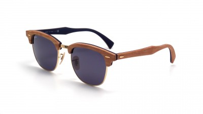 f854189bc4 Ray-Ban Clubmaster Wood Brown RB3016M 1180R5 51-21 ...