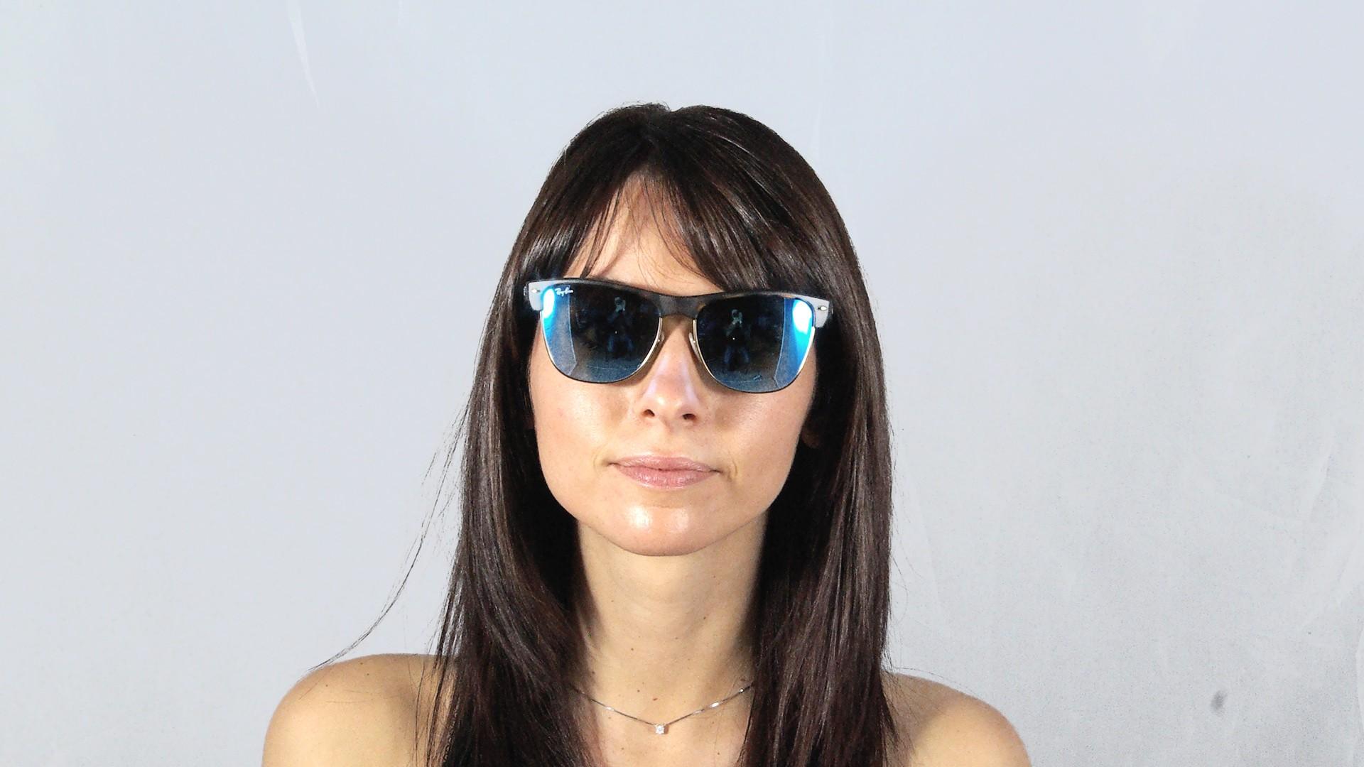 ... denmark sunglasses ray ban clubmaster oversized tortoise matte flash  lenses rb4175 6092 17 57 16 large 399797667daa