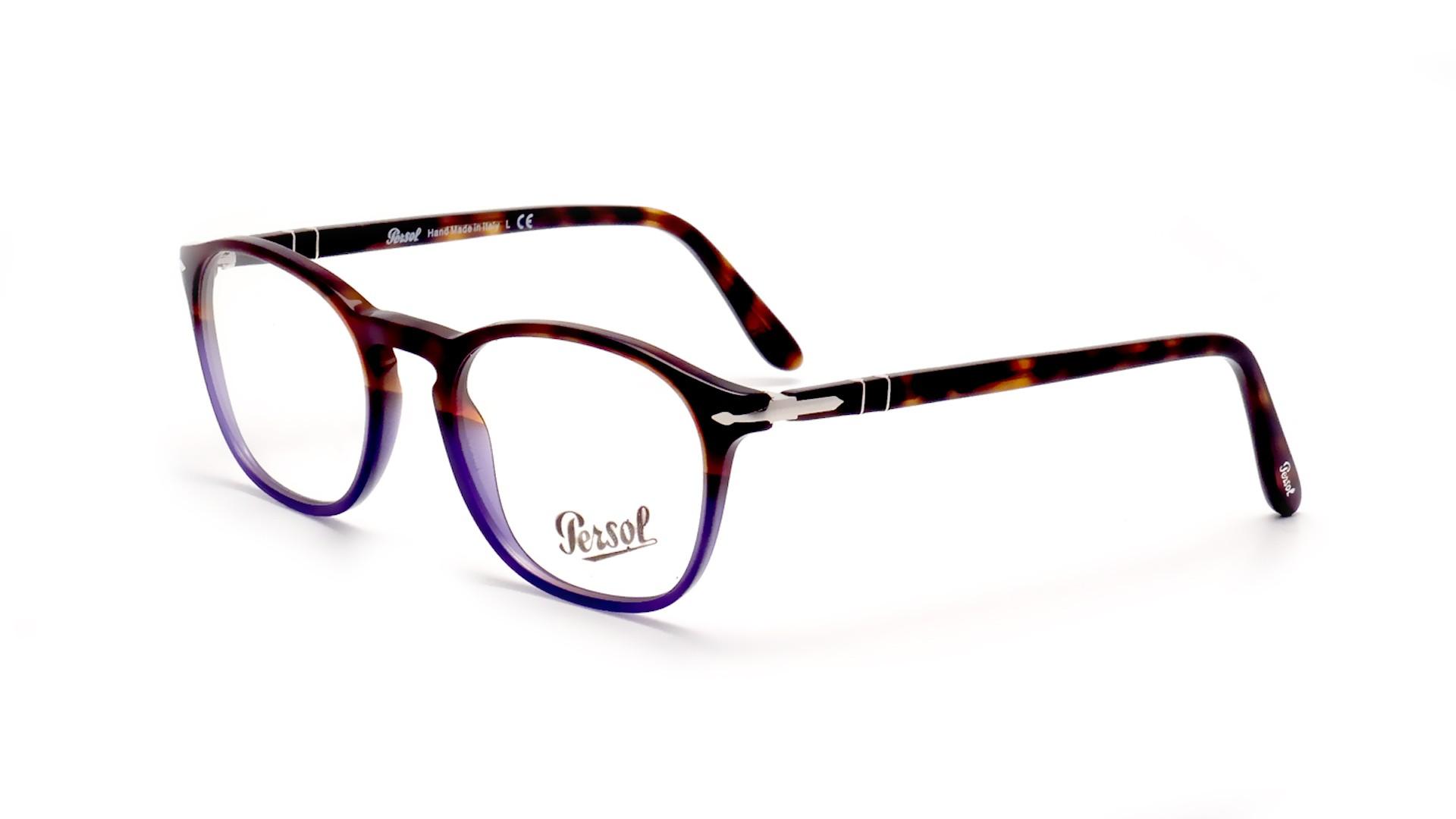 7e31d3a0aa Eyeglasses Persol Vintage Celebration Suprema Multicolor PO3007V 1022 50-19  Medium
