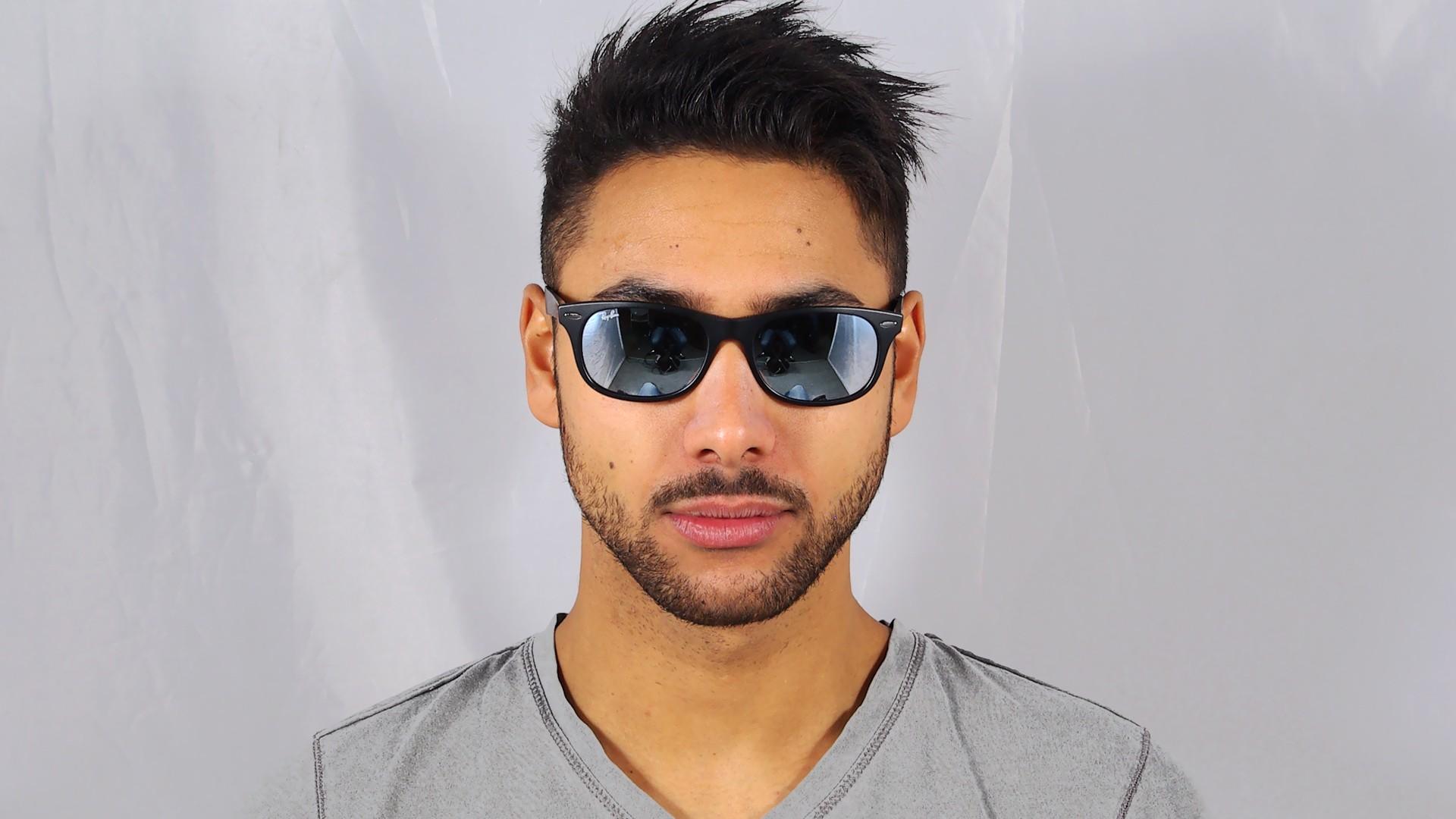 8e433d5867e Sunglasses Ray-Ban Erika Black RB4171 601 5Q 54-18 Medium Polarized