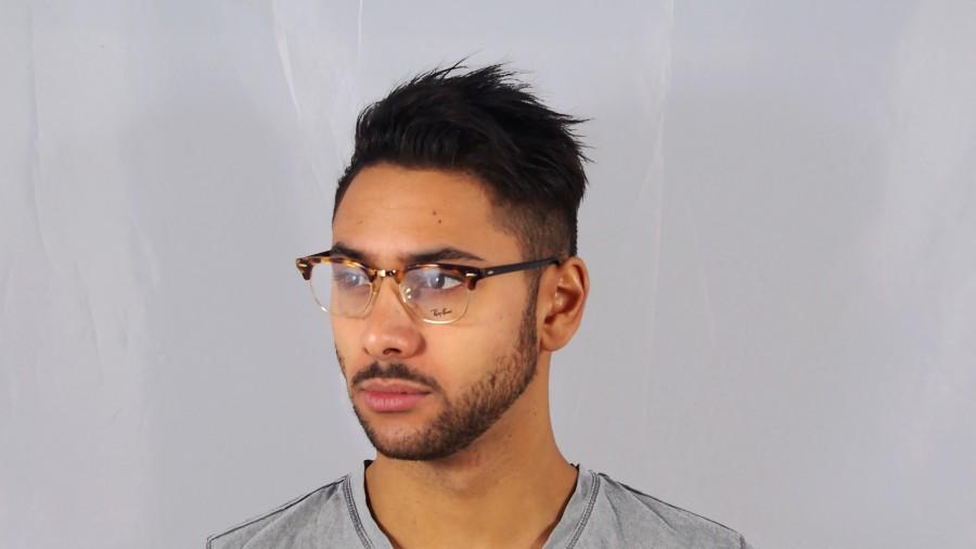 de102105568 ... promo code lunettes de vue ray ban clubmaster tortoise rx5154 rb5154  5494 49 21 visiofactory 2d8c2