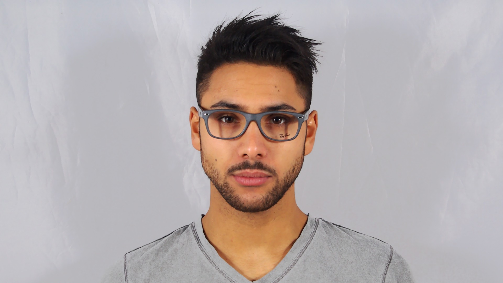 bcde812774 Eyeglasses Ray-Ban RX5228 RB5228 5582 53-17 Grey Medium