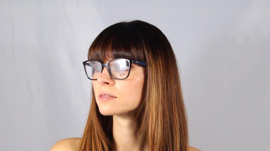 b9bbf38cd6 Eyeglasses Ray-Ban RX7066 RB7066 5585 52-17 Tortoise Medium