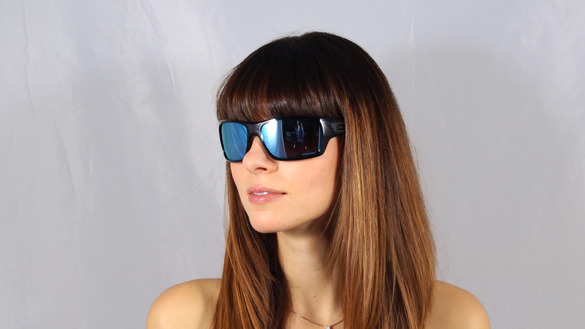 Sunglasses Oakley Turbine Black Prizm Deep Water OO9263 14 Large Polarized  Mirror 48a66fa7feb5