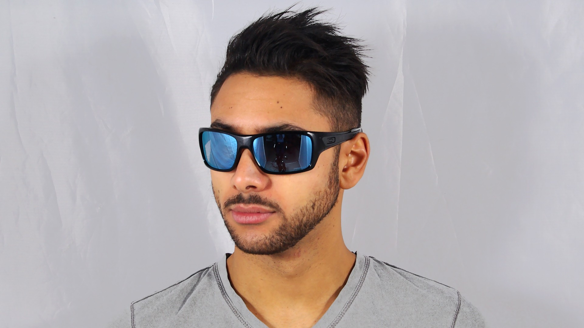 fbcdc6fe9a Sunglasses Oakley Turbine Black Prizm Deep Water OO9263 14 Large Polarized  Mirror