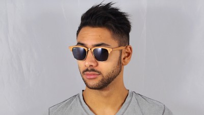 Ray-Ban Clubmaster Wood Brun RB3016M 1180R5 51-21