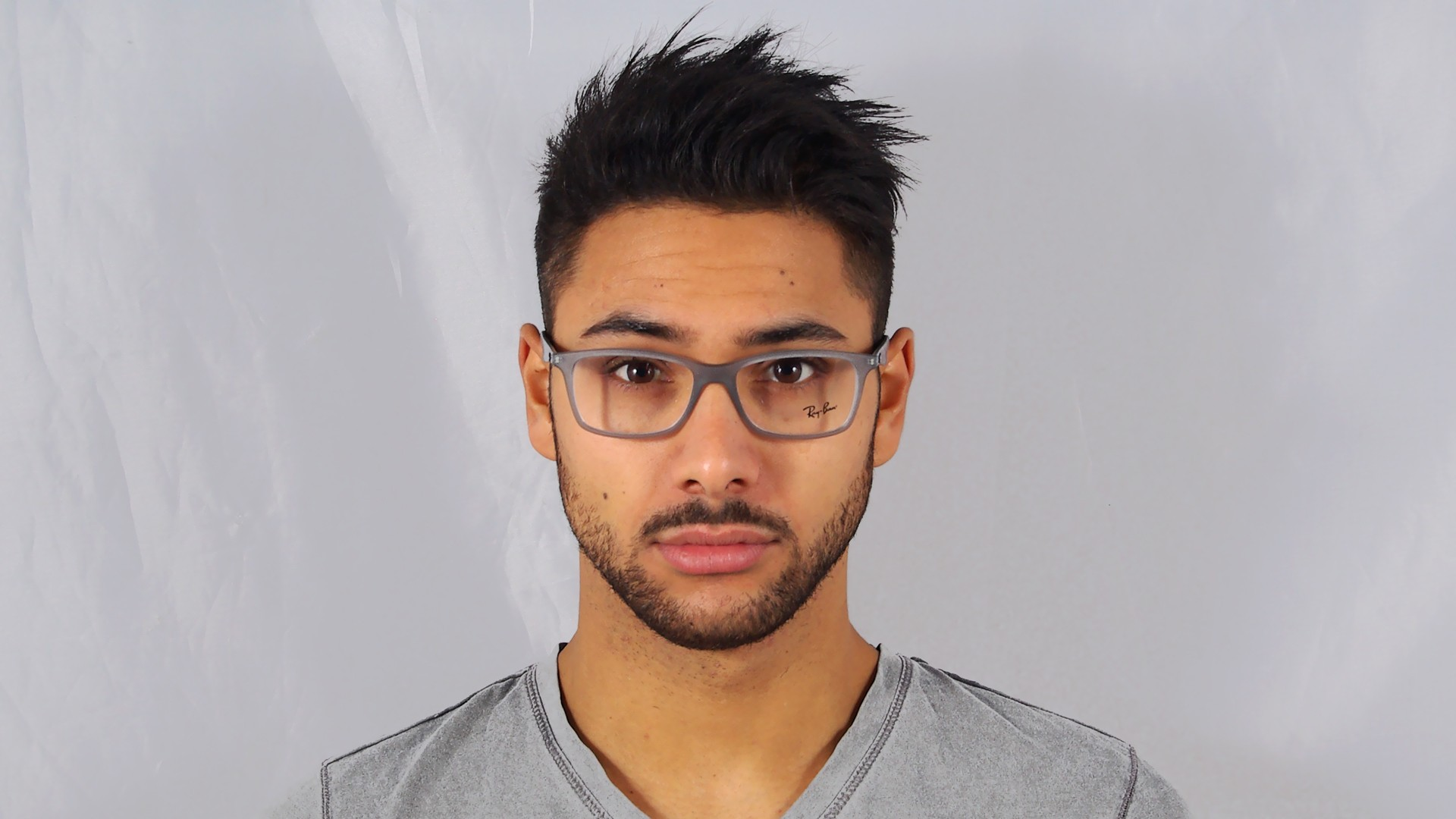 90ee52642c Eyeglasses Ray-Ban Active Lifestyle Grey Matte RX7047 RB7047 5482 54-17  Medium