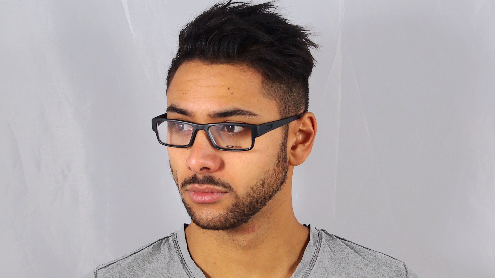 14ce531c78e Eyeglasses Oakley Airdrop Black Matte OX8046 01 51-18 Medium
