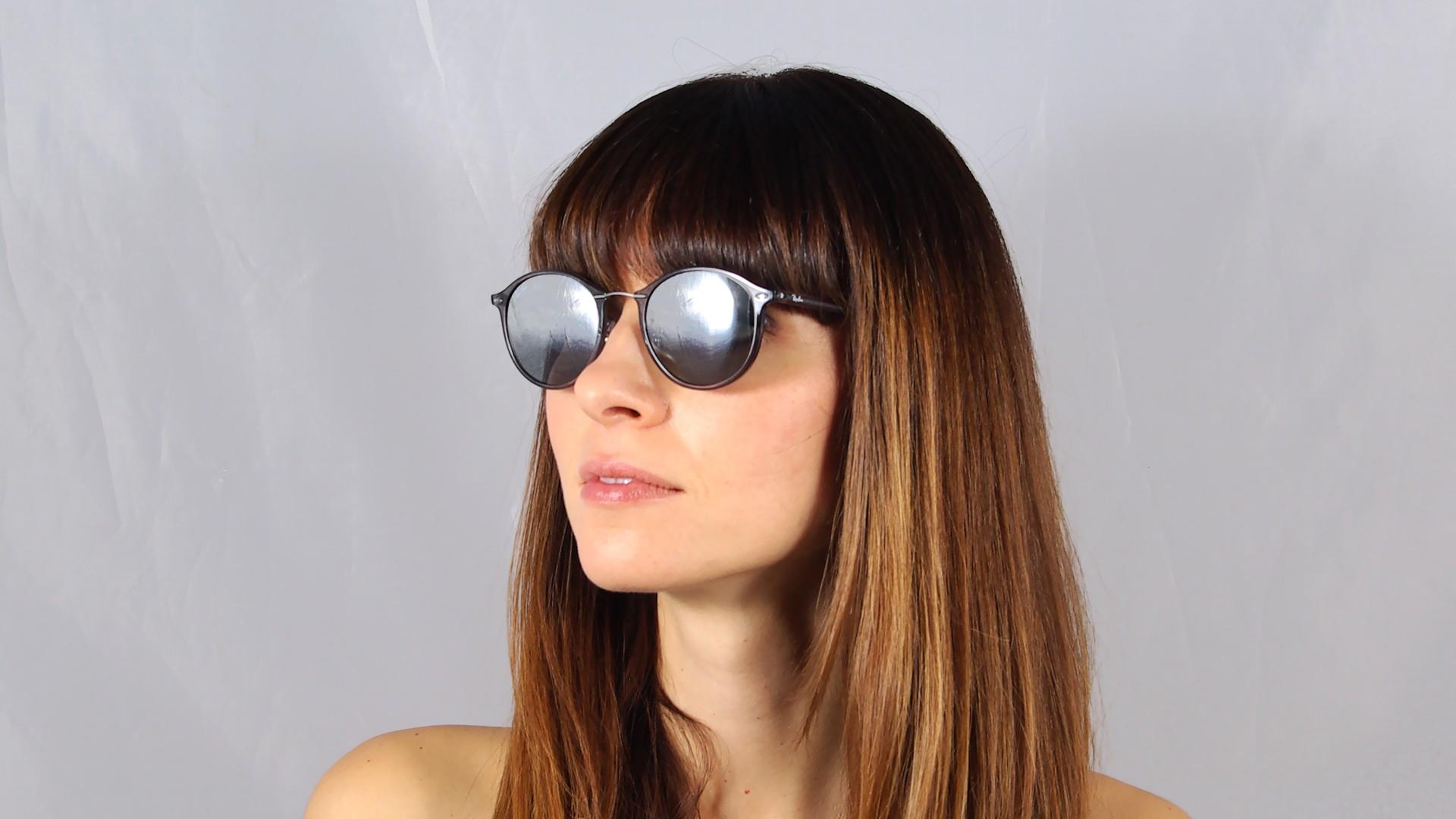 aa0c6bbb677 Sunglasses Ray-Ban Tech Light Ray Tech Grey RB4242 620088 49-21 Medium  Mirror