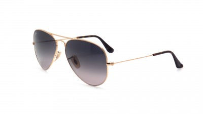 270190d701abb Sunglasses Ray-Ban Aviator Large Metal Gold RB3025 181 71 58-14 Large  Gradient