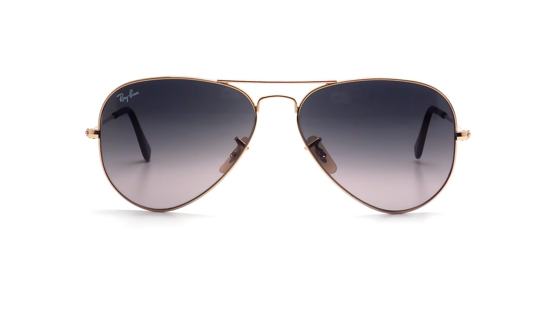 31dd4b108b Sunglasses Ray-Ban Aviator Large Metal Gold RB3025 181 71 58-14 Large  Gradient