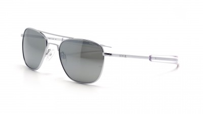 Lunettes Randolph Aviator Bright Chrome Grey AF53663 55-20 149,90 €