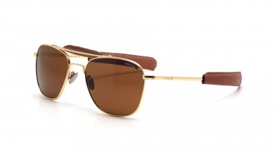 Randolph AT51632 TNLTHR Aviator II 23K Gold Polarisiert Medium 287,48 €
