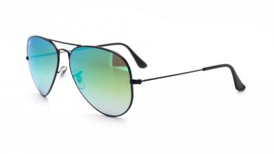 05090d961c Sunglasses Ray-Ban Aviator Large Metal Black RB3025 002 4J 58-14 Large  Gradient Mirror