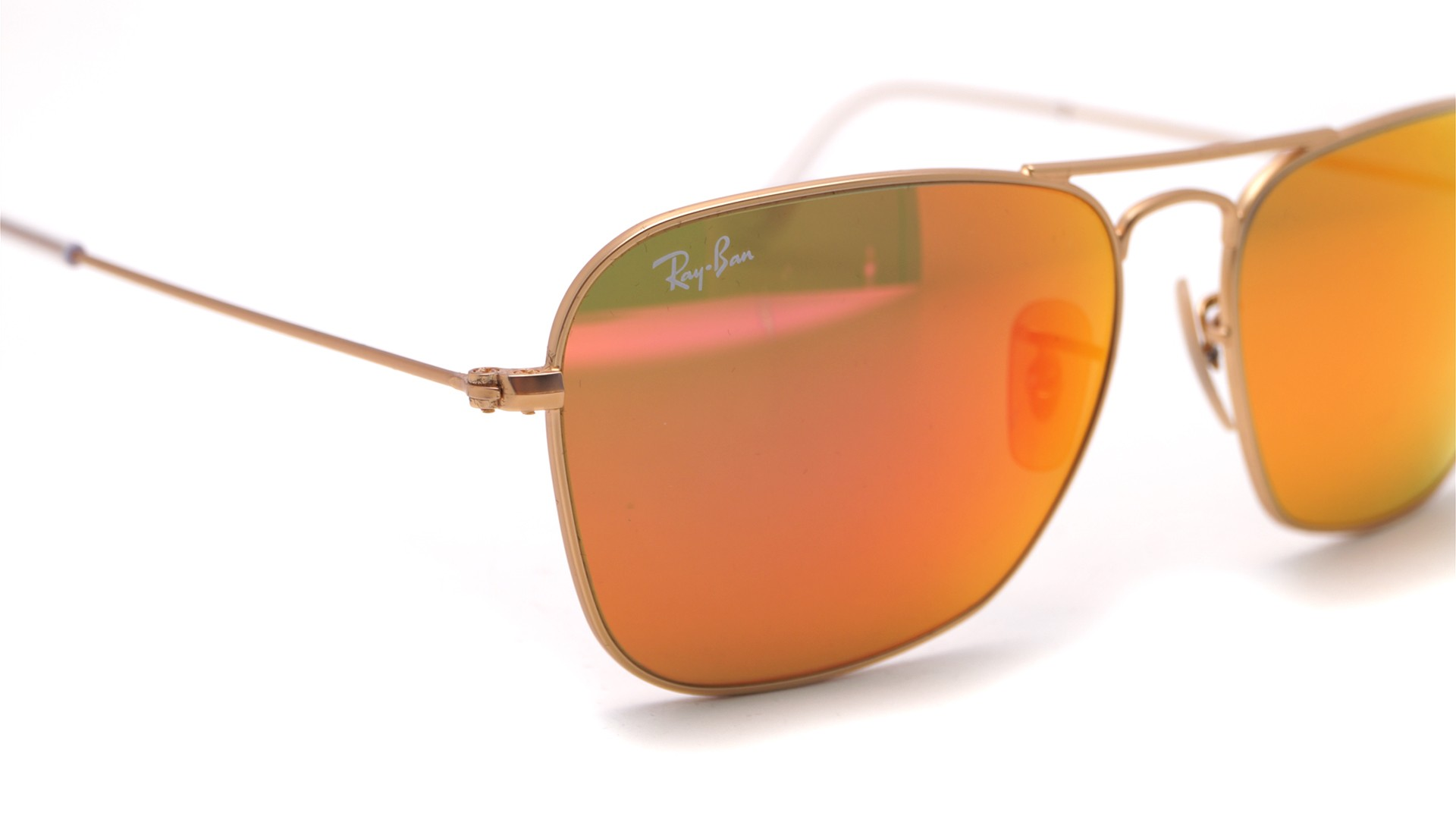 73f3d5fa88b ... where can i buy sunglasses ray ban caravan gold flash lenses rb3136 112  69 58 15