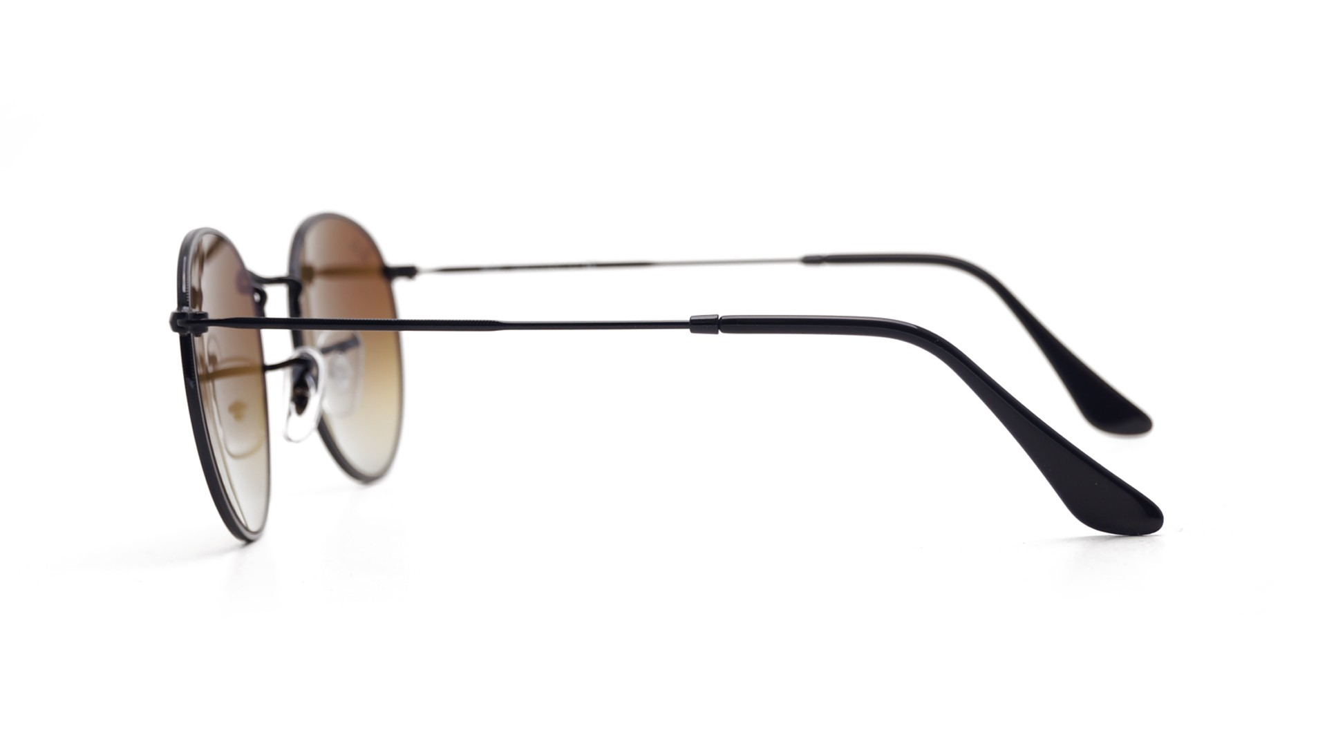 e8ec1c0a4 Ray-Ban Round Metal Black RB3447 002/4O 50-21 | Visiofactory