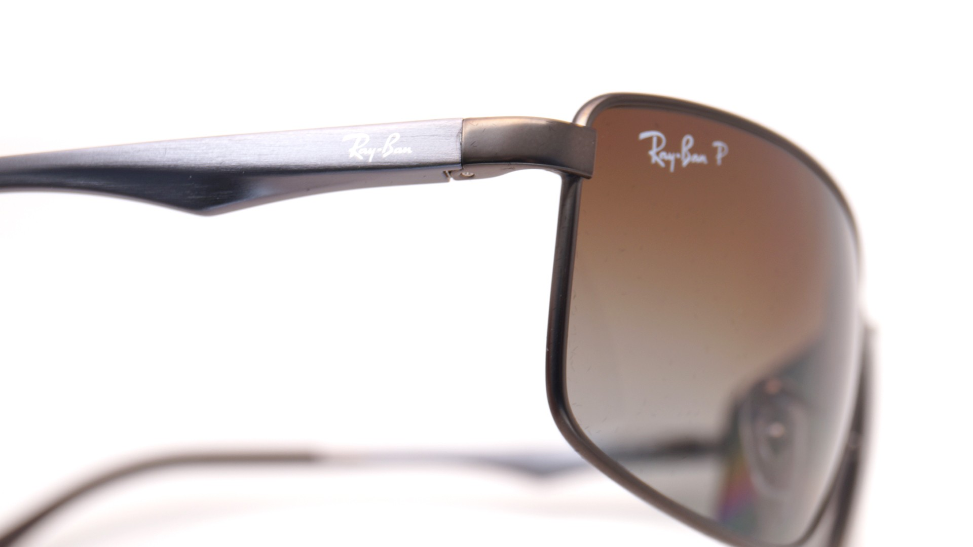 8199419b654 Ray-Ban RB3498 029 T5 64-17 Grey Large Polarized Gradient