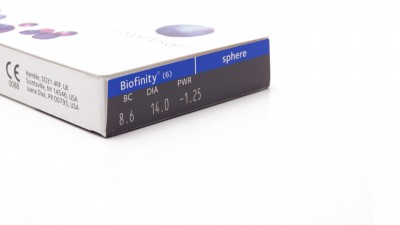 Lenses de contact Biofinity Monthly 6L