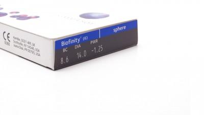 Biofinity Monatliche 6L