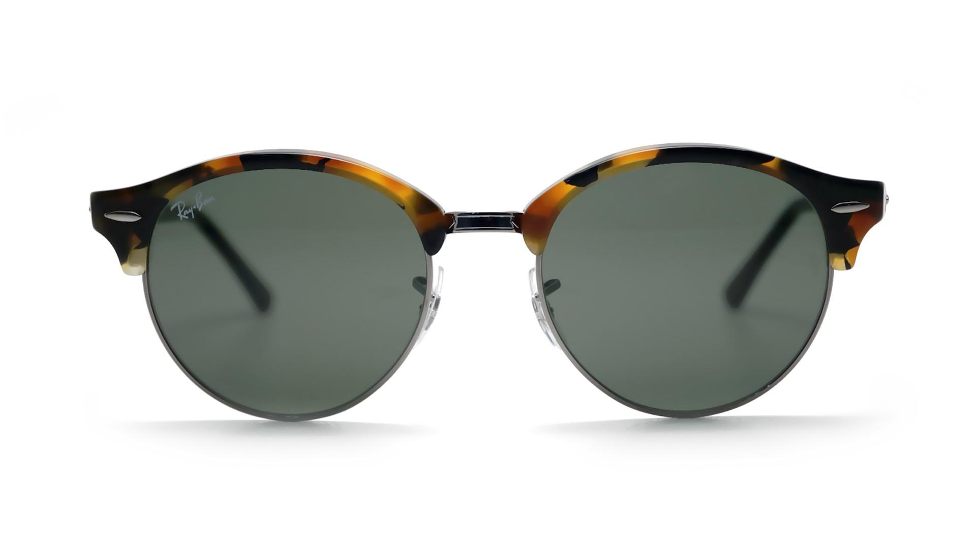 579c3ceb136c84 Sunglasses Ray-Ban Clubround Tortoise G15 RB4246 1157 51-19 Medium