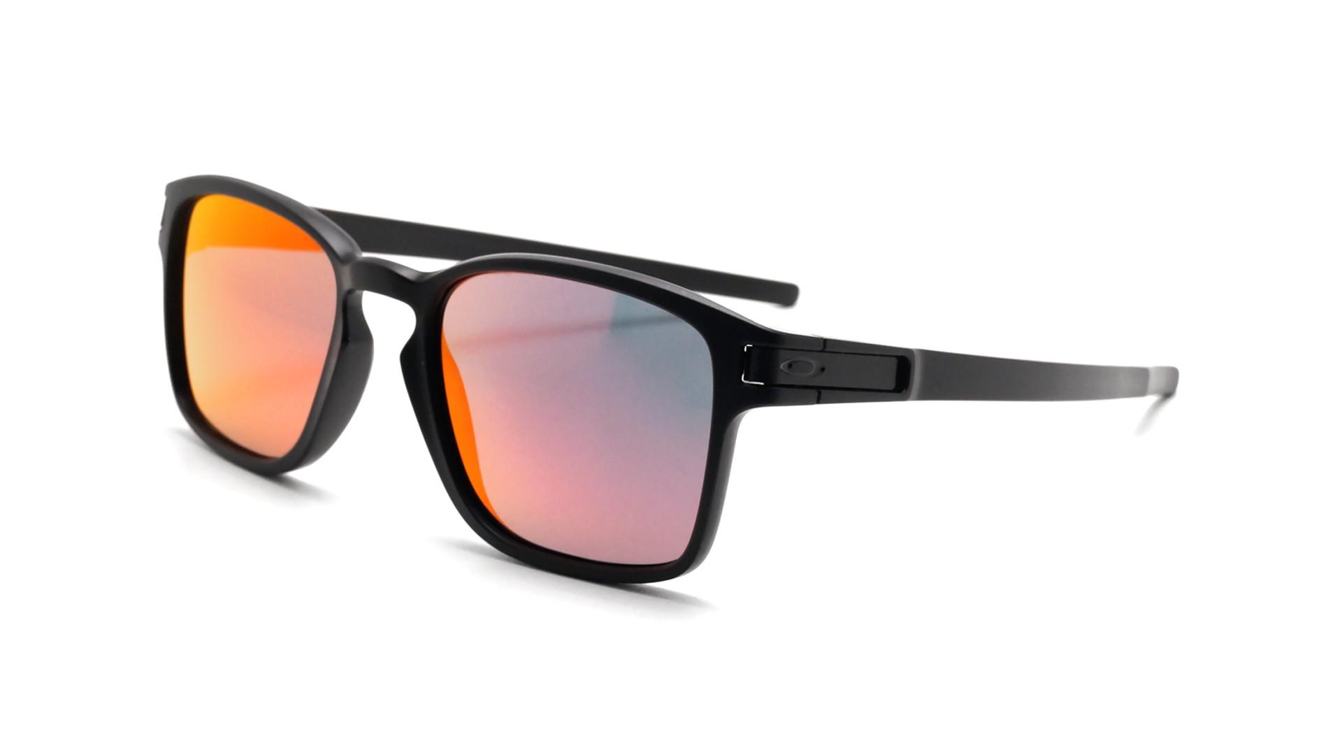 1178c1004e Sunglasses Oakley Latch Sq Black OO9353 03 52-19 Medium Flash