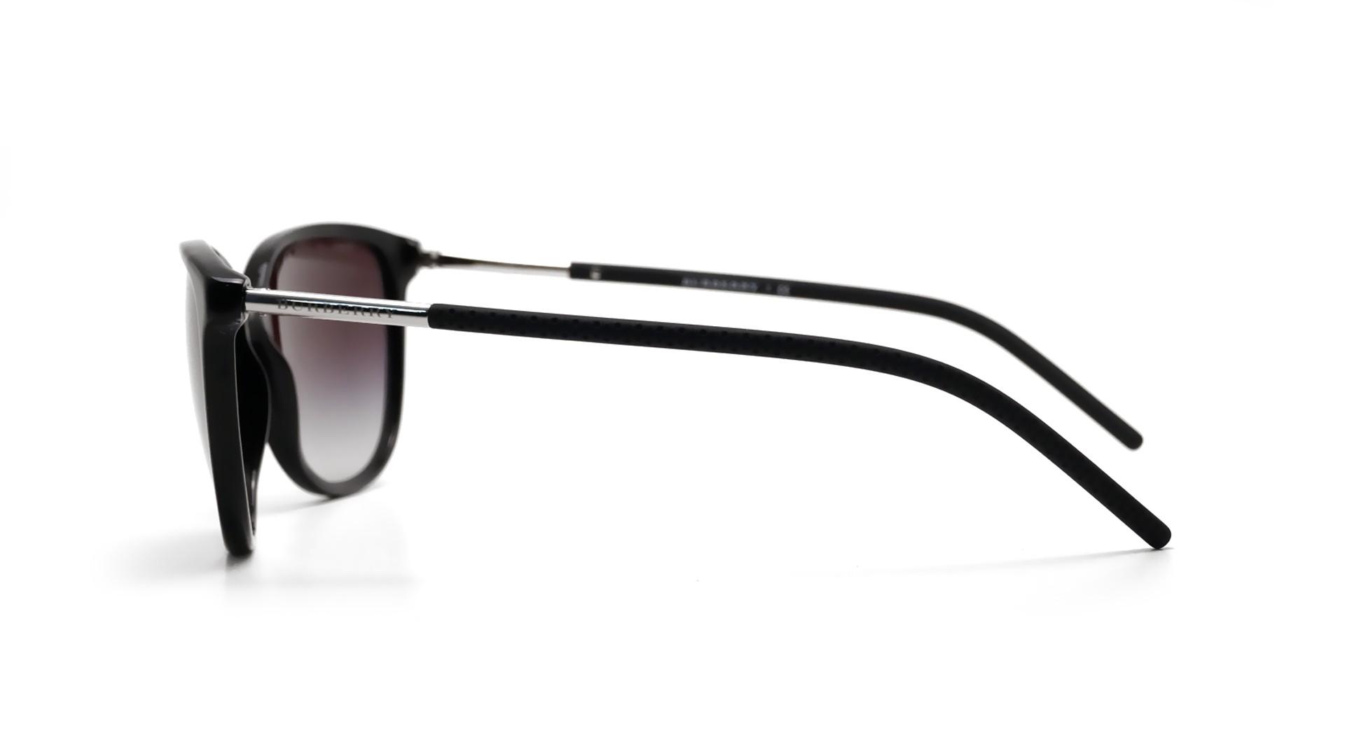 bca25278792 Sunglasses Burberry BE4180 30018g 57-16 Black Large Degraded