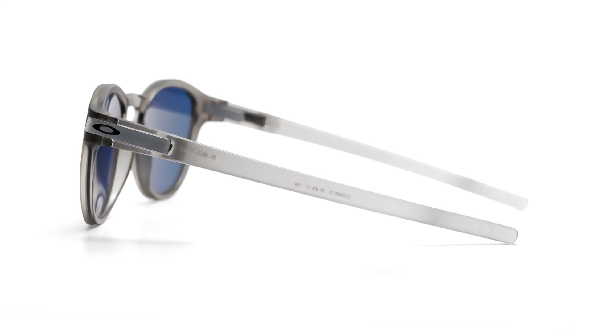 80513313a5f07e Sunglasses Oakley Latch Grey Mat OO9265 15 53-21 Medium Flash