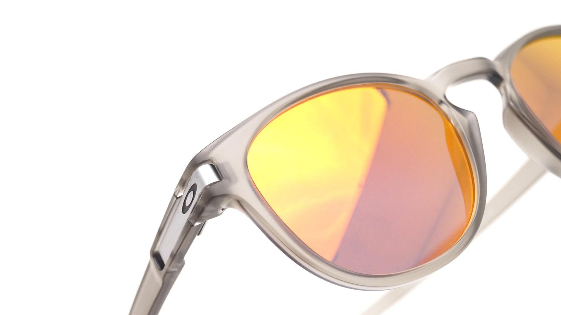 b800b3d6ecaeff Lunettes de soleil Oakley Latch Matte grey ink Gris Mat OO9265 15 53-21  Medium Miroirs