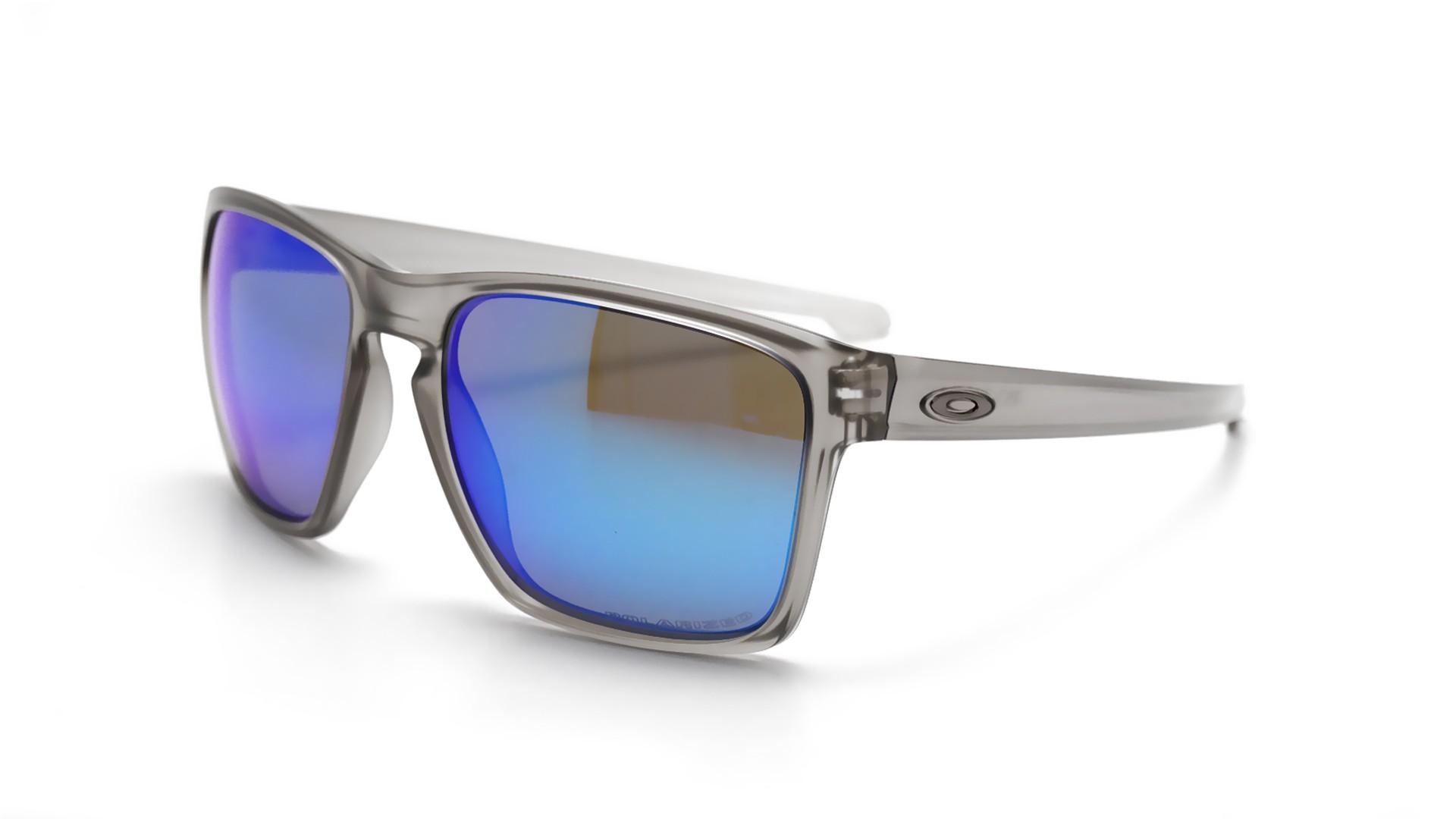 Sunglasses Oakley Sliver Xl Grey OO9341 03 57-18 Medium Polarized Flash 3d2765dd9d