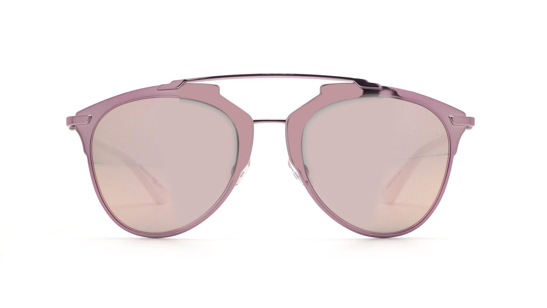 126d9a382d Lunettes de soleil Dior Reflected Pink white Rose DIORREFLECTED M2Q0J 52-21  Medium Miroirs