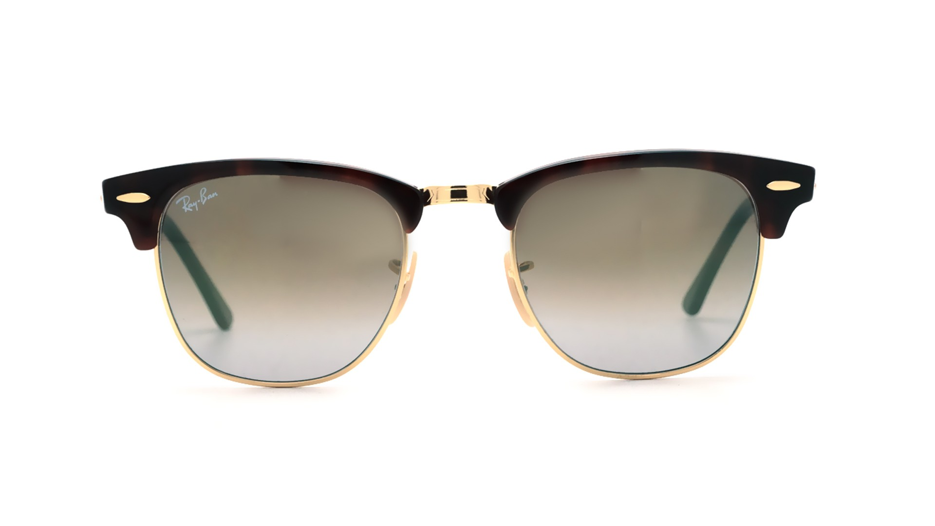 Sunglasses Ray-Ban Clubmaster Tortoise Flash lenses RB3016 990 9J 49-21  Small Degraded Flash 9569d948a5